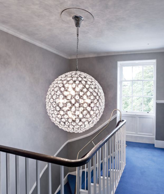 The opportunity to offset a tall pendant that could hang way lower than may normally be acceptable not everything has to be in the centre of a ceiling