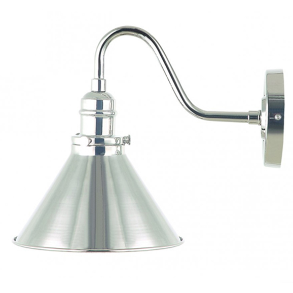 Provence Wall Light Polished Nickel
