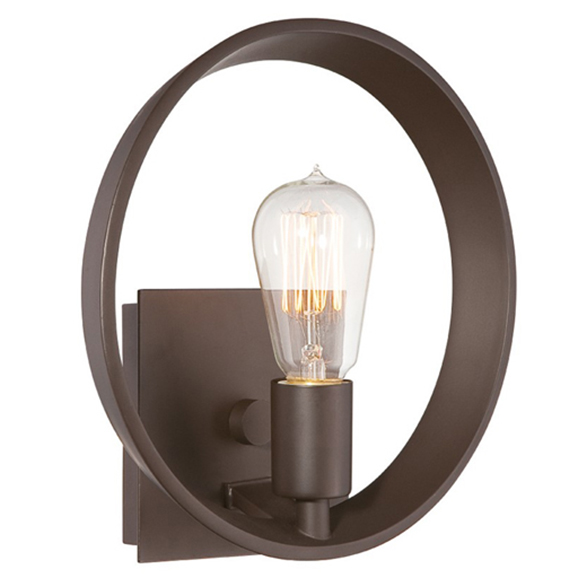Theater Row Wall Light Bronze