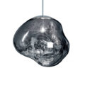 An image of the Tom Dixon Melt Chrome Pendant Light.