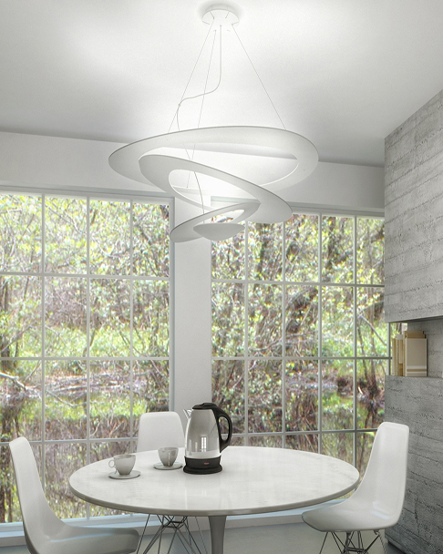 artemide pirce mini halo pendant amos lighting