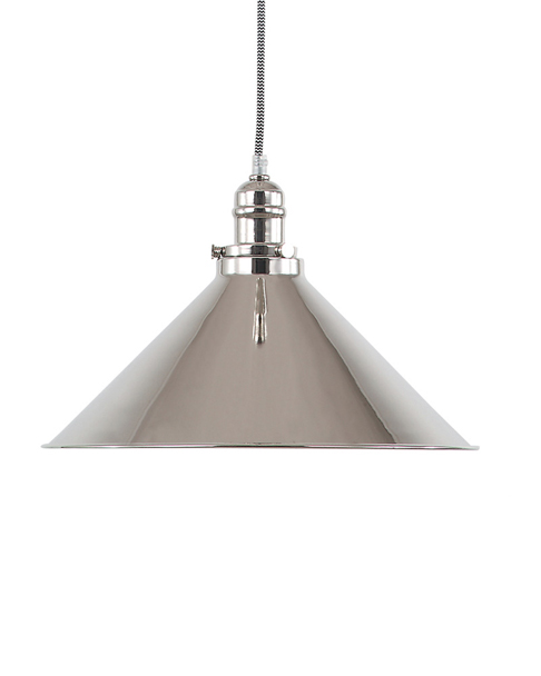 Provence Pendant Polished Nickel