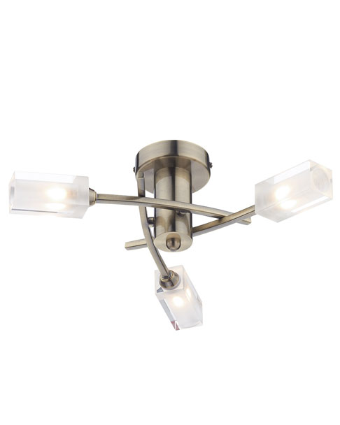 Dar morgan 3 light flush ceiling light amos lighting dar morgan 3 light flush ceiling light aloadofball Gallery