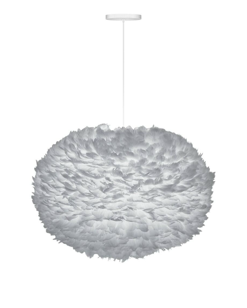 Vita Eos Grey Ceiling Light XL