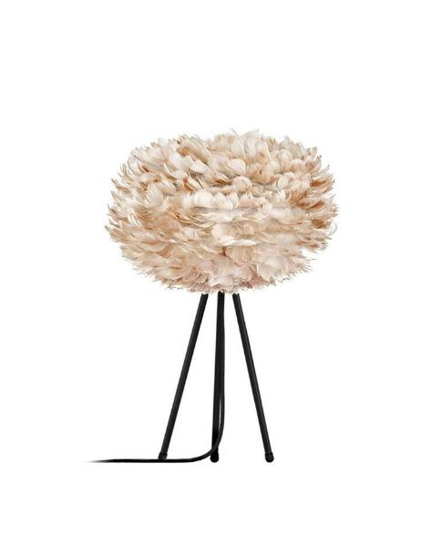 Vita Eos Light Brown - Tripod Table Lamp