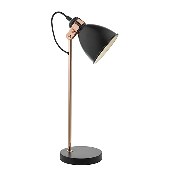 Fred Task Lamp Black