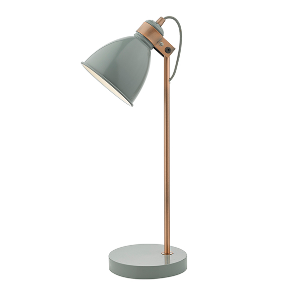 Fred Easy Reading Task Lamp Grey