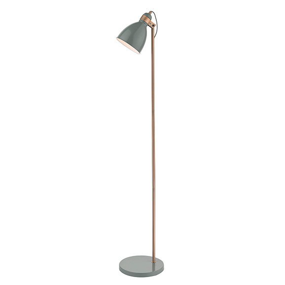 Fred Easy Reading Floor Lamp Grey