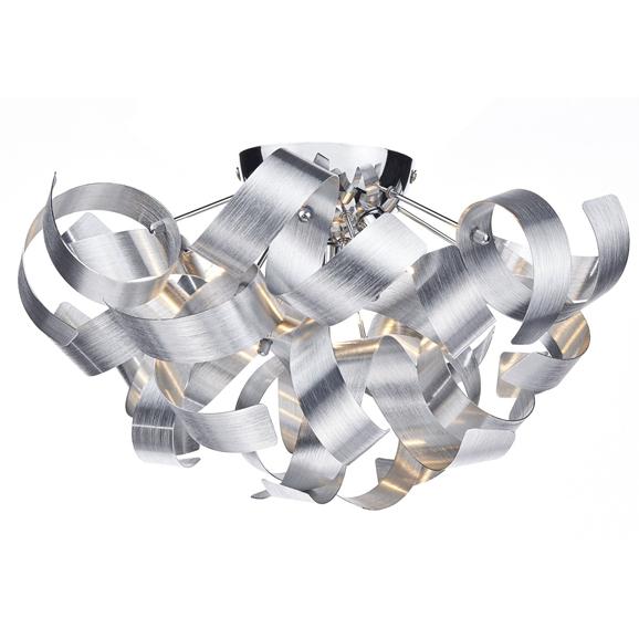 3BANRAW0450 Rawley 4 Light Ribbon Flush