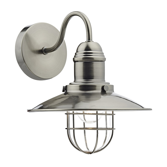 3BANTER0761 Terrace Single Wall Bracket Antique Chrome