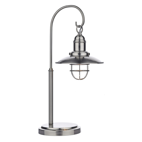 3BANTER4261 Terrace Table Lamp Antique Chrome