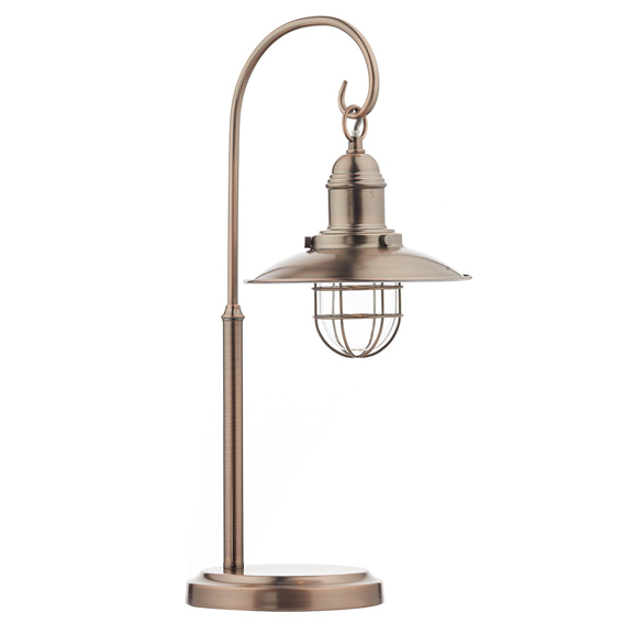 3BANTER4264 Terrace Table Lamp Copper