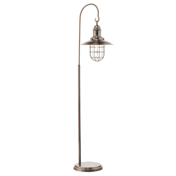 3BANTER4964 Terrace Floor Lamp Copper