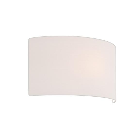 3HAR4135 - Astro White Semi Drum 320 Lampshade