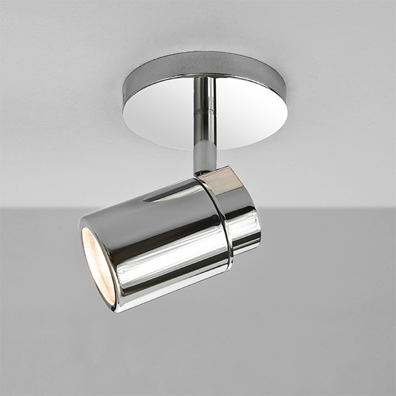 3HAR6106 - Astro Como Single Polished Chrome Ceiling Spotlight