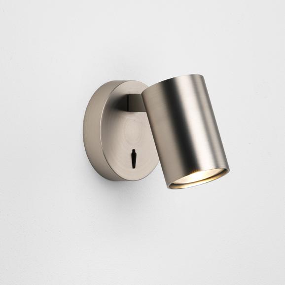 3HAR7949 - Ascoli Single Switched Matt Nickel