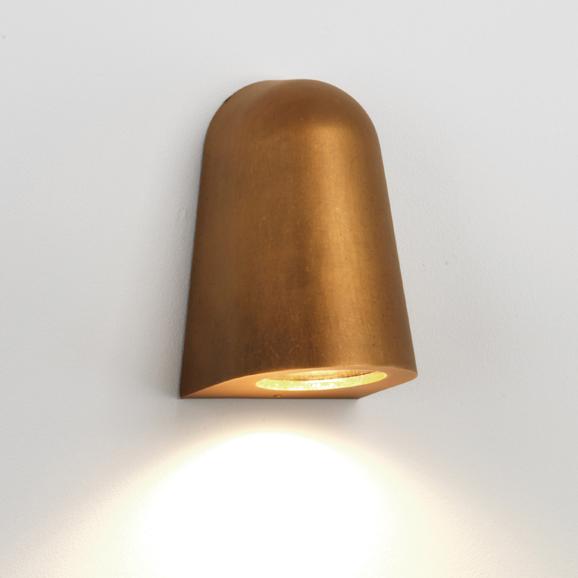 3HAR7962 - Mast Light Antique Brass