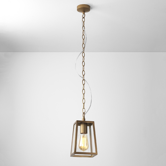 3HAR7985 - Calvi Antique Brass Pendant