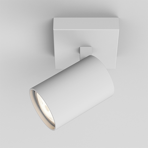 3HAR6142 - Astro Ascoli Single White Spotlight