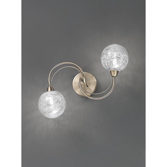 3MILFL23282 - Franklite Gyro 380 Bronze 2 Light Walk Bracket