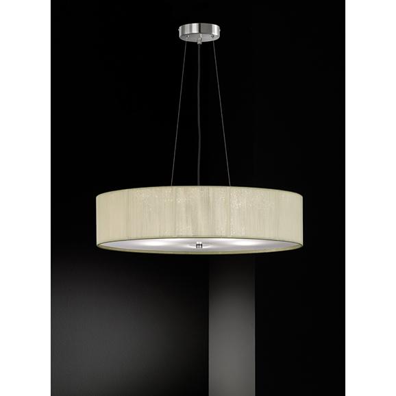 3MILFL23425 - Franklite Desire 600 5 Light Cream Pendant