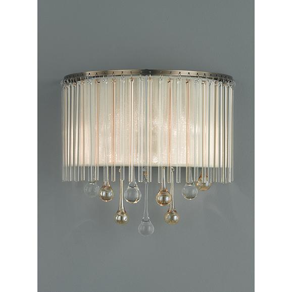 3MILFL23462 - Franklite Ambience Bronze 2 Lamp Wall Light