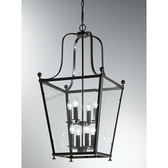 3MILLA70058 - Franklite Atrio Antique Bronze 8 Light Lantern