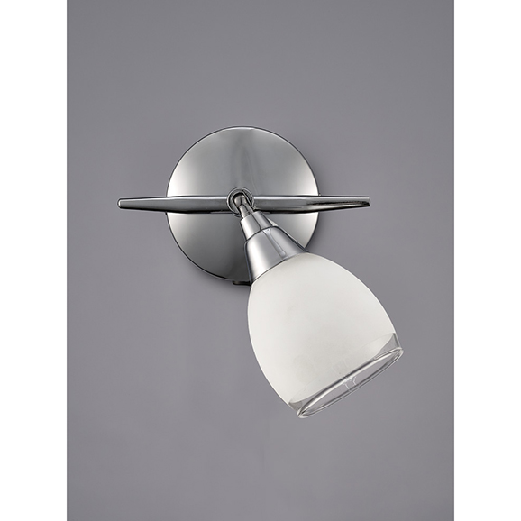 3MILSPOT8961 - Franklite Lutina Chrome 1 Light Wall Spotlight