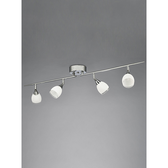 3MILSPOT8964 - Franklite Lutina Chrome 4 Light Ceiling Spotlight