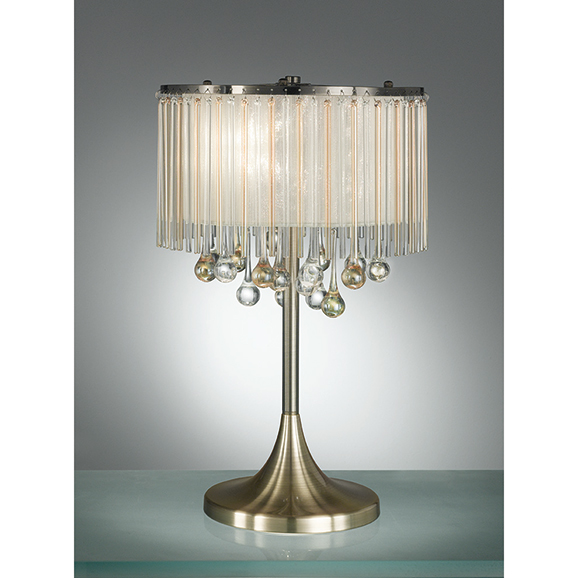 3MILTL986 - Franklite Ambience Bronze 3 Light Table Lamp