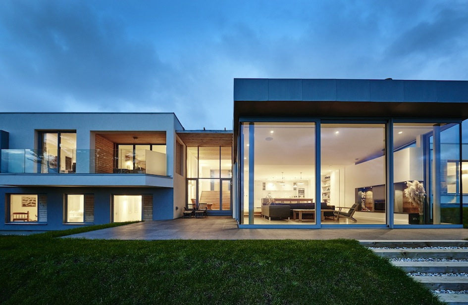 Bring the outside in with our clever exterior lighting tricks