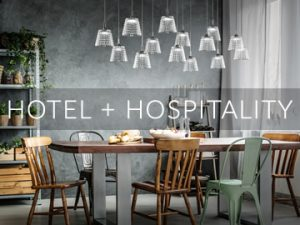 Amos Lighting + Home: Hotel & Hospitality Inspiration