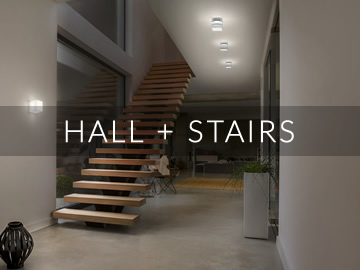Amos Lighting + Home: Hallway & Stairs Inspiration