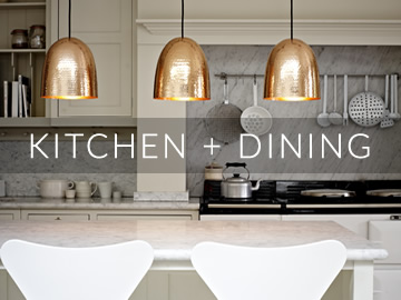 Amos Lighting + Home: Kitchen & Dining Inspiration