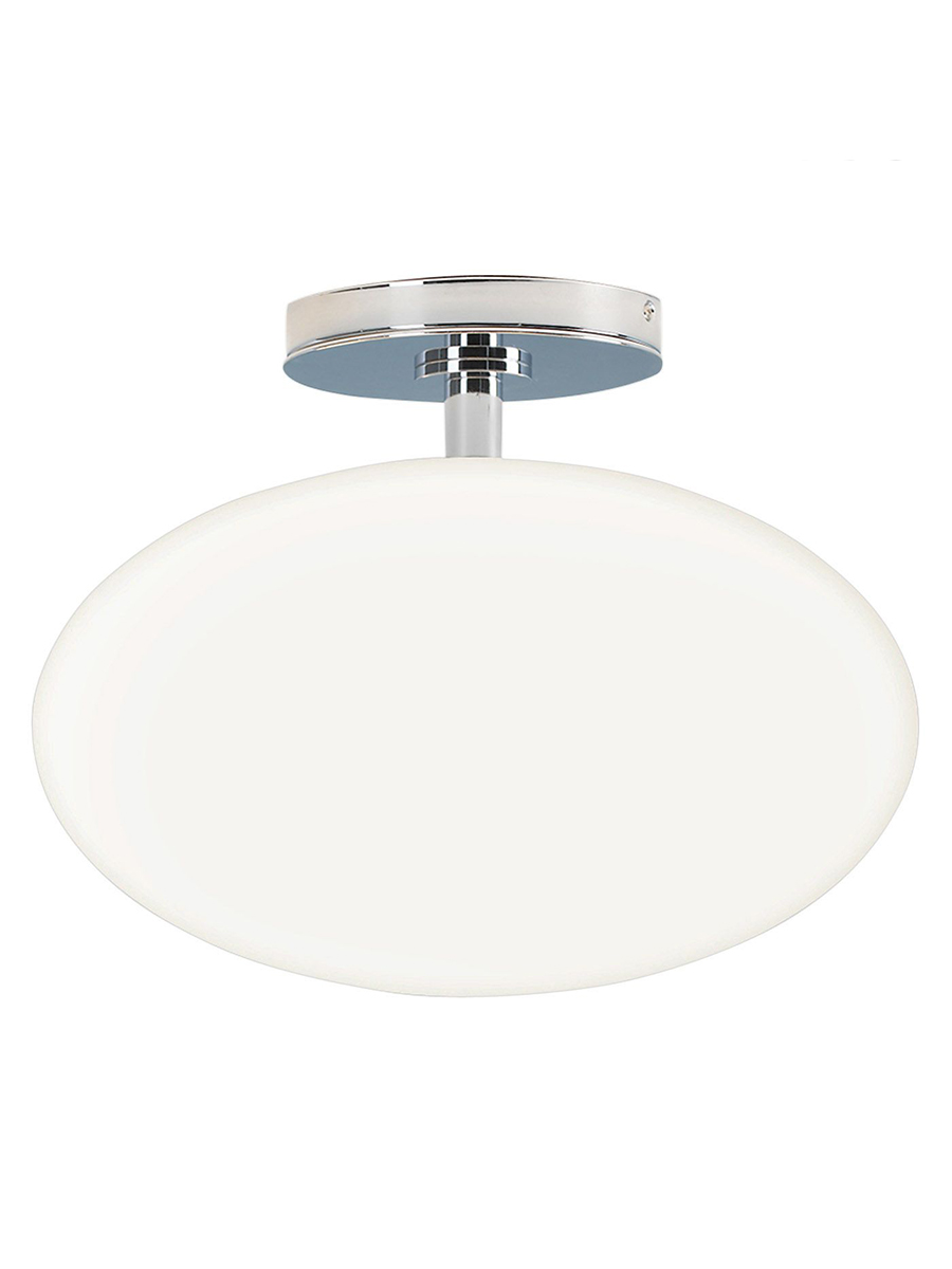 Astro Zeppo Flush Ceiling Light White