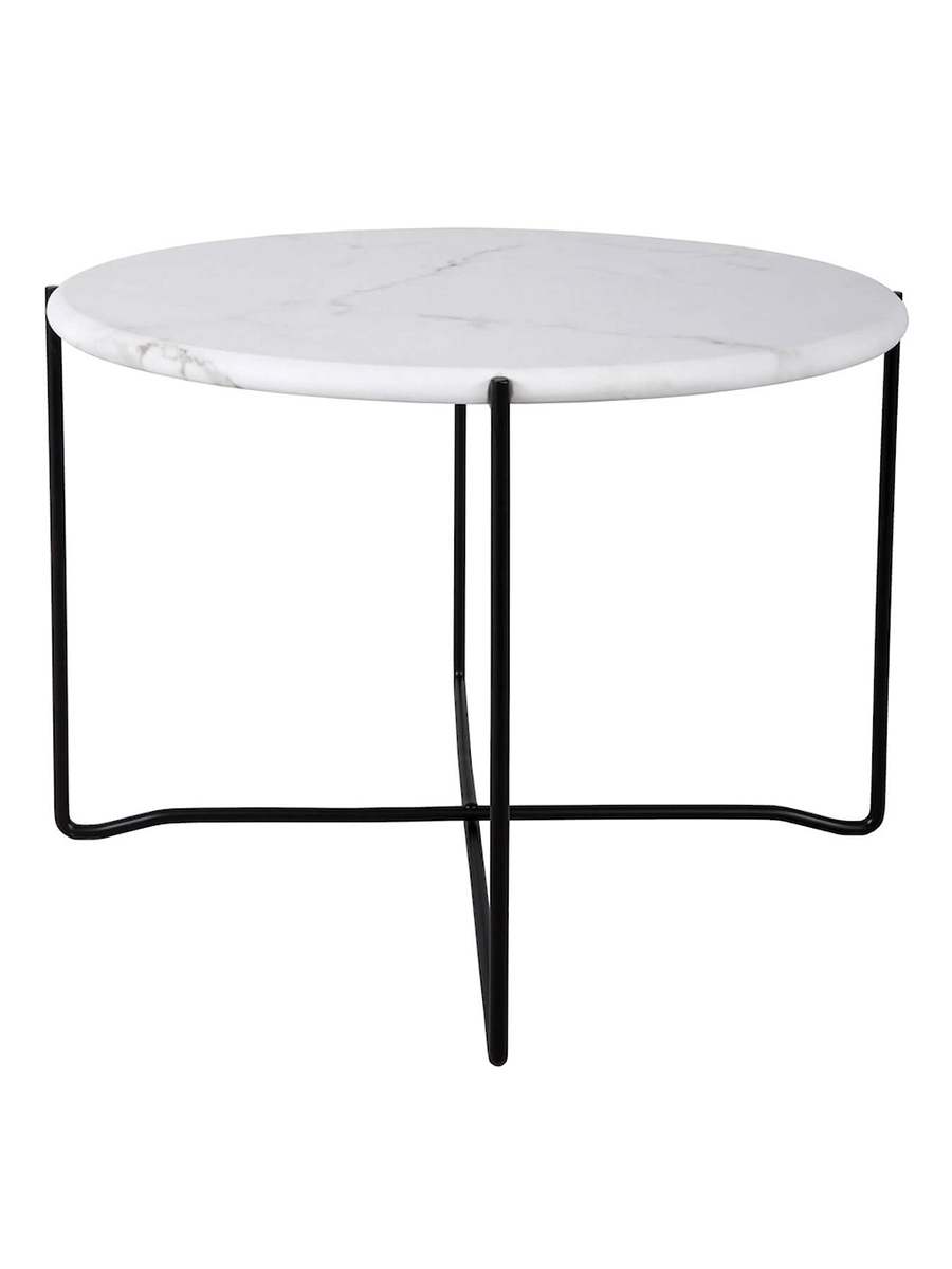 Azzate White Marble Coffee Table Amos Lighting Home