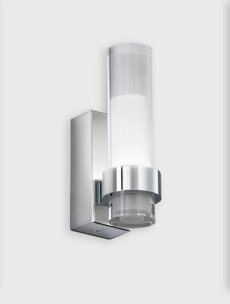 Franklite Glass Tube Single Wall Light Amos Lighting Home