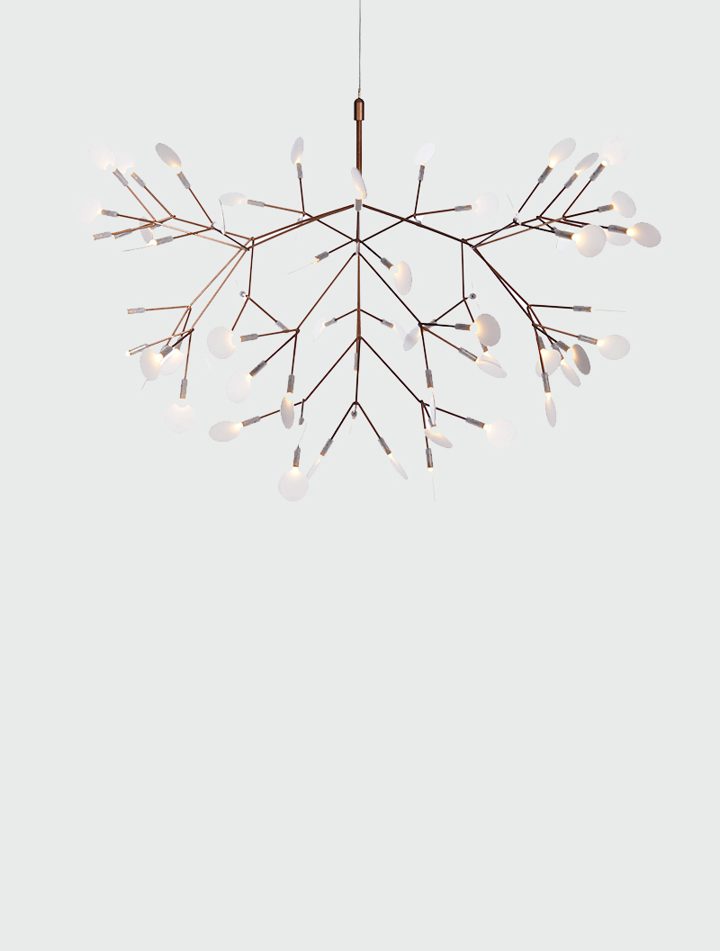 new styles 05229 42c71 Moooi Heracleum Small Copper Pendant