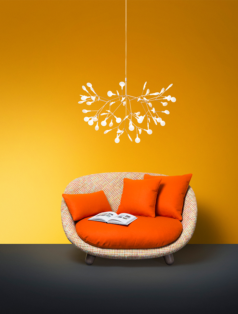 Moooi Heracleum Small Nickel Pendant