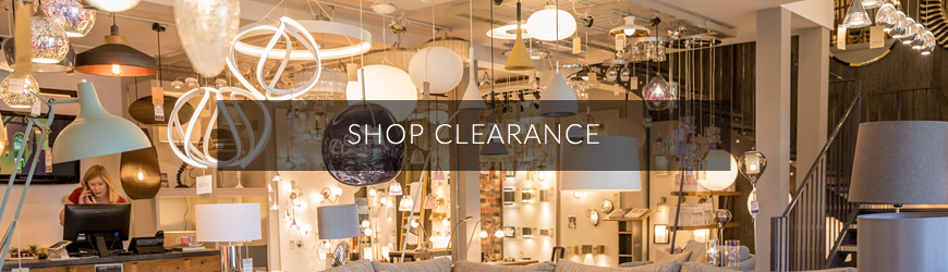 Shop Clearance: Amos Lighting + Home