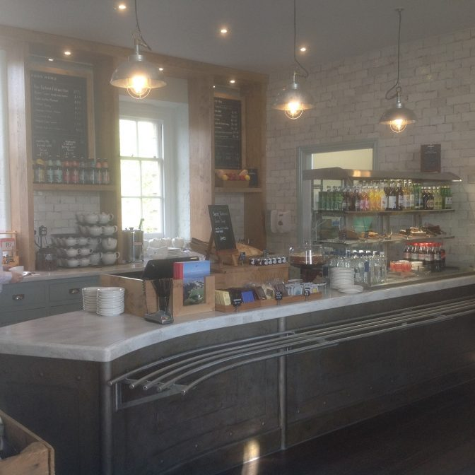 Pendennis Castle Tea Rooms for English Heritage