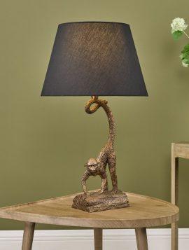 Dwayne Table Lamp Bronze C/W Shade