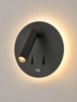 Franklite Backlit LED Reading Light - Black