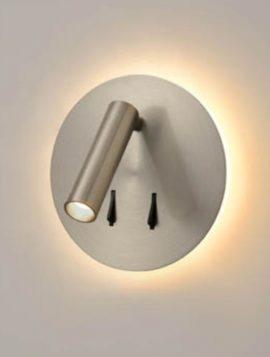 Franklite Backlit LED Reading Light - Nickel