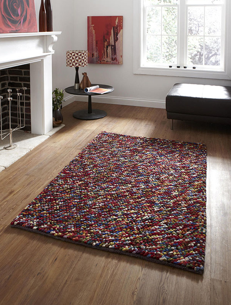 pebbles rug in multi colour amos lighting home 26369